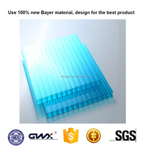 Bayer UV coating greenhouse polycarbonate sheet plastic lowes sunroom