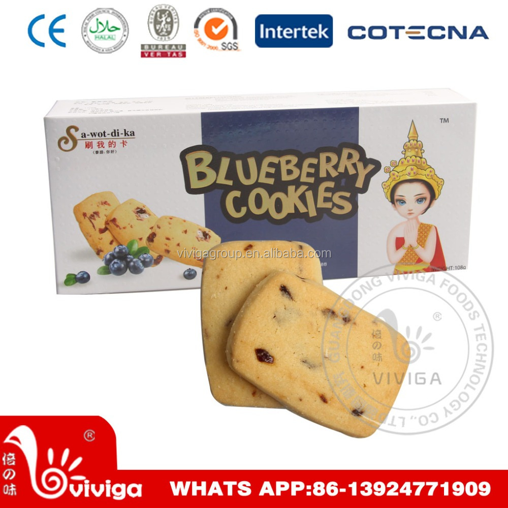 108g Sawotdika Blueberry Cookies