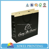 2015 China Factory Professional Custom Printed Handmade customized fashionable paper bags manufacturing machines prices