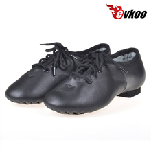 28-46 EU size Jazz Dance Shoes High quality genuine leather wholesale dance leather jazz shoes