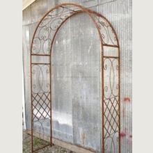 iron rose arch metal frame pergola garden arbours and arches