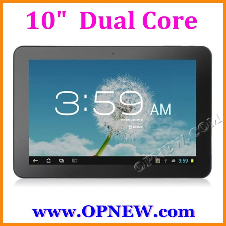 Cheap 10.1 inch Dual core A20 Android 4.2 Tablets Cortex a7 1.52GHz OPNEW Wholesale