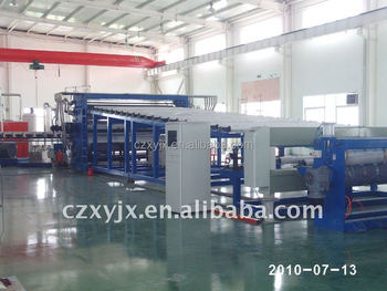 EVA/PVC waterproofing membrane manufacturing machinery