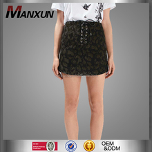 Young Girls Sexy Wearing Short Skirts Jacquard Latest Skirt Design Pictures Woman Dress Made In China