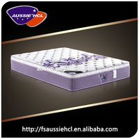 Durable memory foam and spring mattress