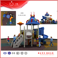 commercial cheap kids plastic outdoor playground slides for sale