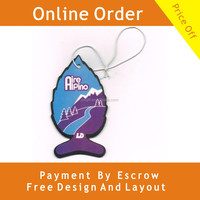 Unique Design Gift Use Cotton Paper Car Freshener Manufacturer