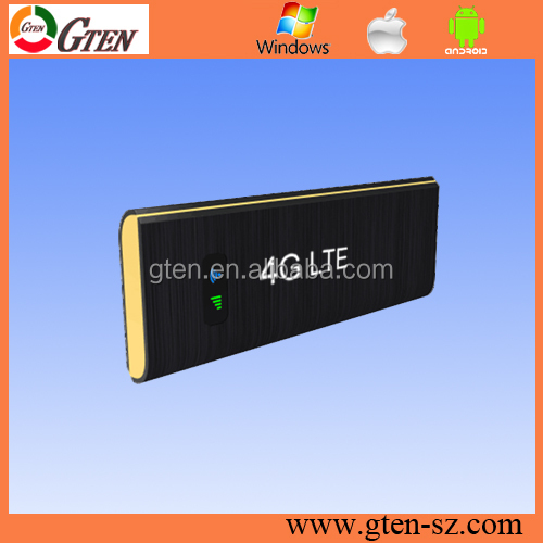 OEM 2g/3g/4g GSM usb modem support any sim card,low price usb 4g wifi modem Support External Antenna