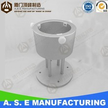 CNC Aluminum Prototype for Laboratory Fixing Seat best price of cnc part