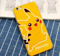 Wholesale Popular Cute Cartoon Super Mario Pikachu Pattern TPU case for iphone 6S