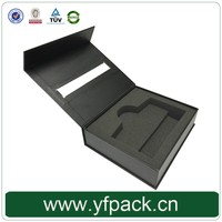 Fancy Paper Sliver Logo Max Vapor Electronic Cigarette Packaging box