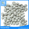Cheap Price Natural Pebble Stone , White stone for garden landscape