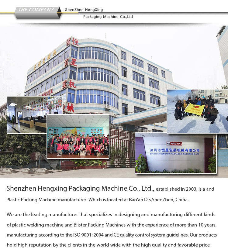 Multi-station Plastic Sealing Machine Blister and Paper Card Packing Machine