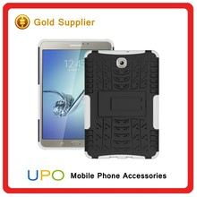 [UPO] 3 in 1 Tough Rugged Shockproof Silicon Hard PC Mobile Phone Case for Samsung tab s2
