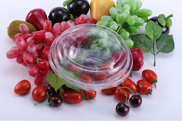 500g Capacity Food Grade PET Fruit and Vegetable Container