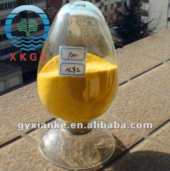 PAC Polyaluminium Chloride for Water Treatment,manufacturer supply yellow PAC30% flocculant powder