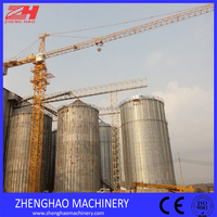 ZHENGHAO 50m height jib length 60m tower crane 10 tons dubai tower crane used tower crane in dubai