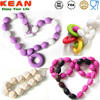fashion bead silicone chain pendant necklace designs 2016