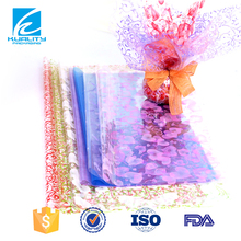 Plastic Printed Plastic Wrap For Flower