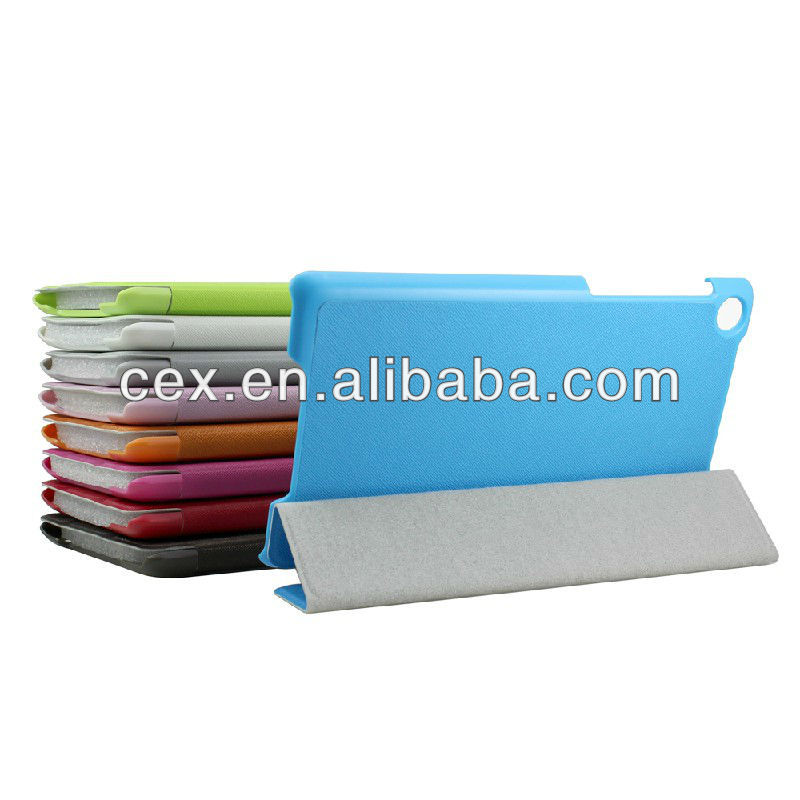 For New Google Nexus 7 Second Generation Colorful Stand Leather Case