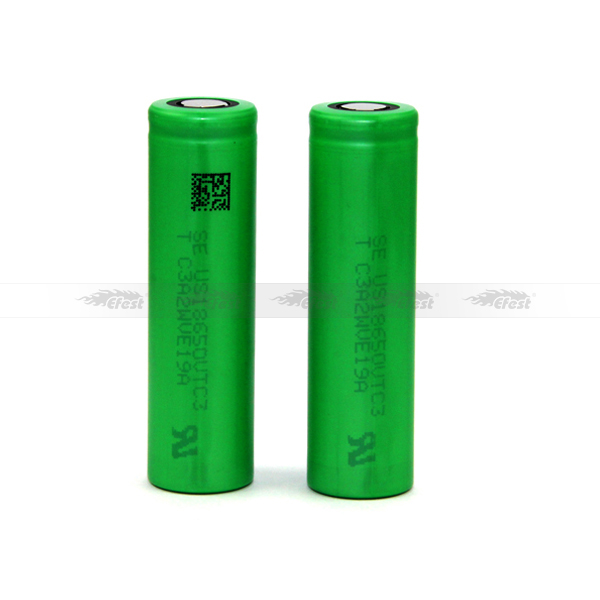 18650 vtc5 / vtc4 / vtc3 30A 3.7v rechargeable battery for ecigarette