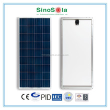 Reliable,25years warranty,16% efficiency 160w poly solar panel with high standard