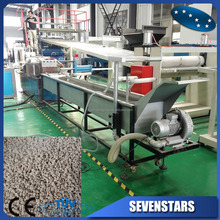 waste recycle plastic granules making machine price / pelletizing machine plastic