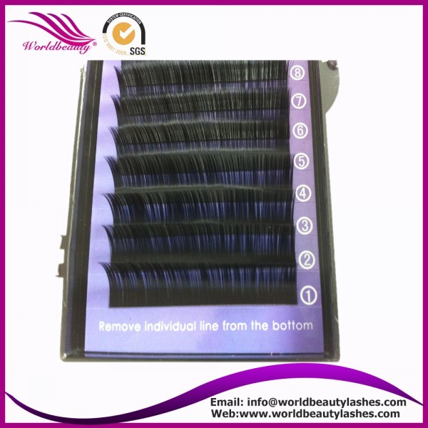 worldbeautylashes, 0.07 Valume eyelash, B C D J L curl, custom logo package