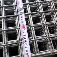 galvanized steel wire mesh square wire mesh Weld Mesh Panel 50*50