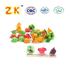 Halal certificated 15g mini fruity jelly cup pudding