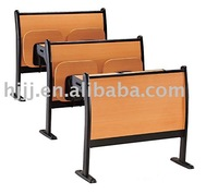 Popular classic university lecture or School desk and chair