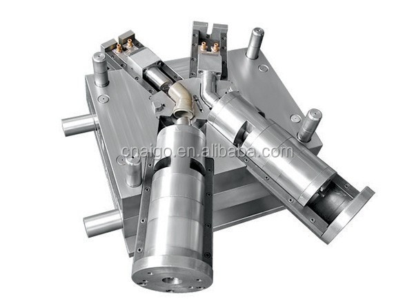 High Precision Plastic Pipe Fitting Flat Pipe Clamp /Injection Mold