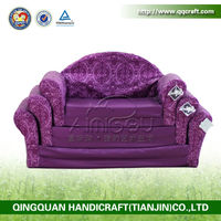 2014 purple / luxuary pet plastic house waterproof dog bed