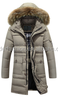 Fashion design down coats fit men long coat outerwear quilted jacket /parka duck down jacket for winters down jackets