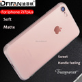 DFIFAN matte phone case cover for apple iphone 8 8 plus, ultra thin frosted soft tpu case for iphone 8