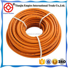 Low Price!! high pressure rubber lpg hose cloth covered rubber hose/ LPG natural gas hose for portable gas stove