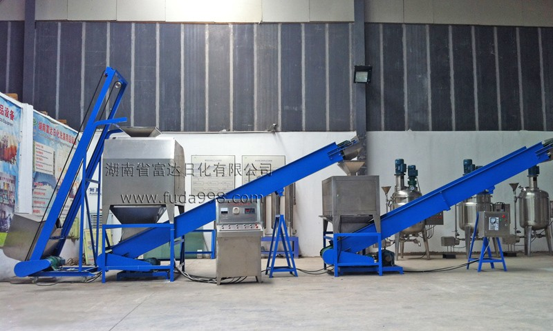 Laundry powder/washing powder/detergent powder making machine and production line