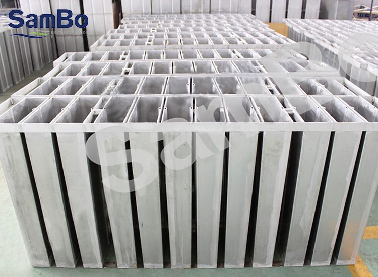 New condition 10T containerized block ice maker machine with CE certificate