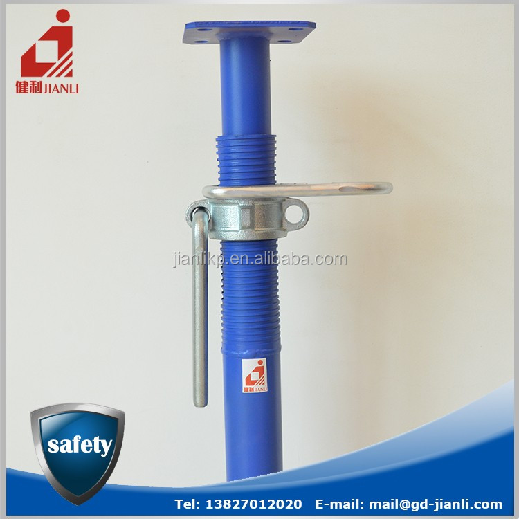 China Manufacturer Adjustable Height Shoring Jack Post For Concrete Support