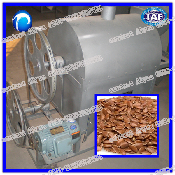 Seeds frying and roaster machine for gas/electril type,soybean chestnut peanut roaster machine