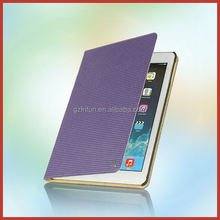 Navy purple high quality 10 inch tablet leather case for ipad air