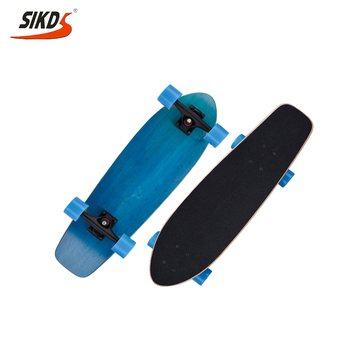 Factory direct Russia maple cruiser skateboard dye color cruiser longboard