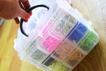 2014 newest upgrade 3 layers crazy DIY loom band