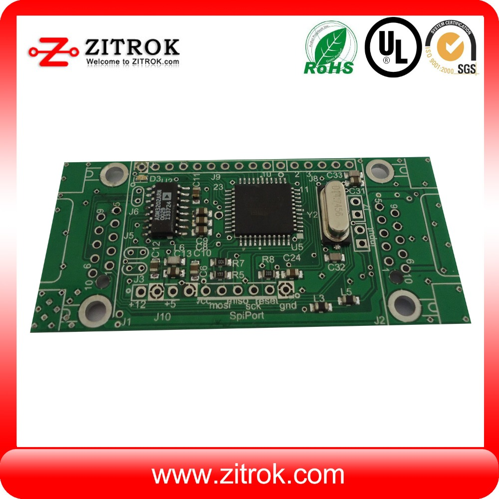 pcb assembly factory produce security system alarm power supply pcb board
