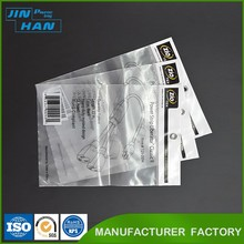 Transparen Raw Materials for Cheap Custom Wholesale Packaging Biodegradable Plastic Clear OPP Bag