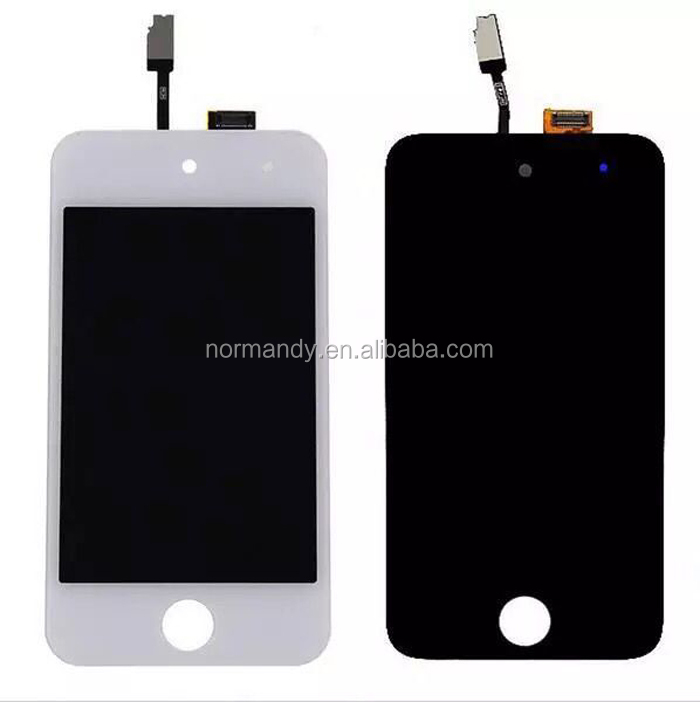 Factory price cell phone LCD screen With Digitizer Assembly For ipod touch4 screen lcd display touch screen for ipod touch 4