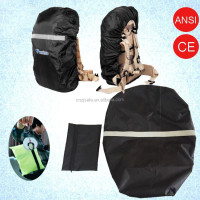 Reflective waterproof safety backpack cover