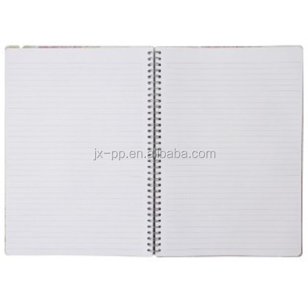 Custom cheap wholesales high quality kids school paper cover spiral notebook