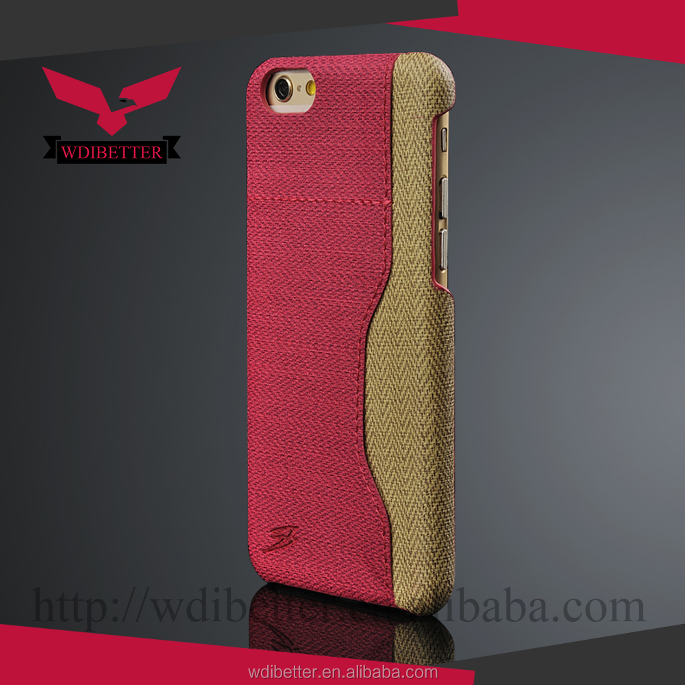 High Quality Scratch Genuine Leather Raw Material Mobile Phone Cover
