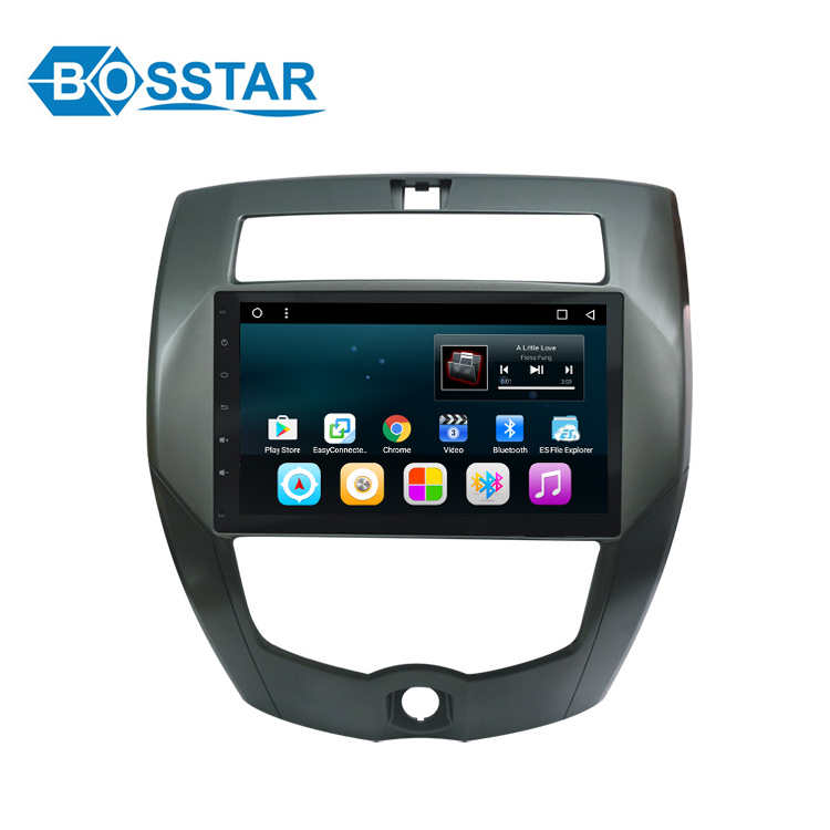 Bosstar android 6.0 car mp5 stereo player for NISSAN1 LIVINA with gps navigation system/BT/WIFI